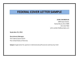 federal government cover letters sample cover letter for federal job faxnet1 org
