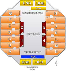 Stock Show Rodeo Seating Chart Seating Charts Rushmore Plaza