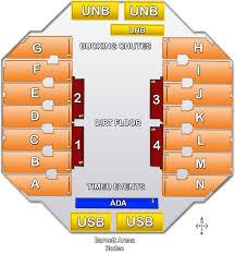 Seating Charts Rushmore Plaza