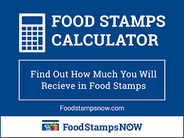 Food Stamps Calculator How Much Will I Receive Food