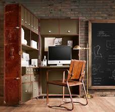 home office ideas neutral. Captivating Brick Wallpaper Home Office Ideas Neutral