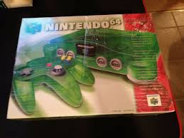 N64 Price Chart Nintendo 64 Launch Edition Console Jungle Green