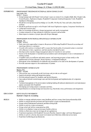 People Soft Consultant Resume Peoplesoft Consultant Resume Samples Velvet Jobs 2