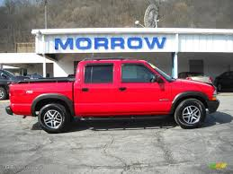 2003 Victory Red Chevrolet S10 LS ZR5 Crew Cab 4x4 #27919782 ...