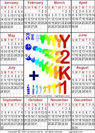 year calender free 21st century calendar and a free y2k calendar