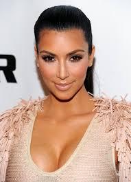 gold eye makeup kim kardashian