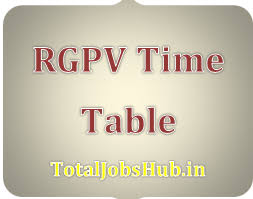 rgpv diploma time table nd th th sem polytechnic  rgpv diploma time table