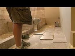 bathroom tiling how to install 12 x 12 tiles on bathroom floor