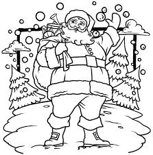 santa claus coloring pages. Unique Claus Jolly St Nick  Santa Coloring Pages With Claus C