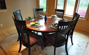 60 inch round glass dining room tables