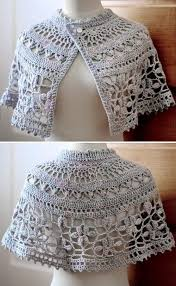 Capelet Pattern Enchanting Vv Nice Crochet Capelet 48 Beautiful Patterns For Free
