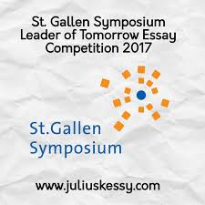 st gallen symposium leader of tomorrow essay competition