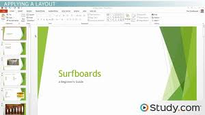 formatting your powerpoint presentation using slide masters and formatting your powerpoint presentation using slide masters and layouts video lesson transcript com