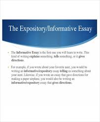 sample informative essay examples in word pdf expository informative essay