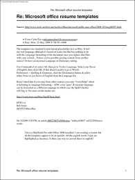 Microsoft Resume Templates Free Amazing Microsoft Office Resume Templates 48