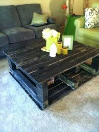 wood pallet coffee table pallet coffee table ideas with grey sofa and cushion and nice flowers