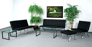 contemporary waiting room furniture. Modren Contemporary Contemporary Waiting Room Furniture Modern Chairs Series  Black Leather Set  Throughout Contemporary Waiting Room Furniture