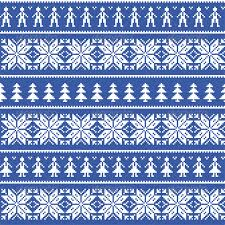 Nordic Pattern Extraordinary Nordic Christman Seamless Pattern With People By RedKoala GraphicRiver