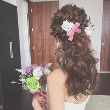 結婚式の花嫁髪型ロングミディアムヘアスタイル画像まとめ 花嫁