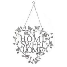 home sweet home metal hanging heart sign on home is where the heart is metal wall art with 8 best random things for the house images on pinterest random