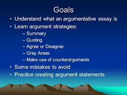 the argumentative essay persuade your audience don t fight 2 goals understand what an argumentative essay is learn argument strategies summary quoting agree or disagree gray areas make use of counterarguments