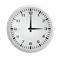clock without frame icons wall clock png black and white