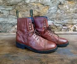 size 10 women s dublin leather lace up boots