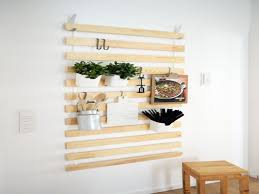 Kitchen Wall Storage Wall Organizer For Kitchen Wall Mount Pot Rack Pan Holder