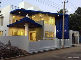 architect house design india mala s 50 x 80 ft bungalow in by ashwin architects
