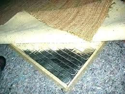 heated floor rug under heater bathroom rugs