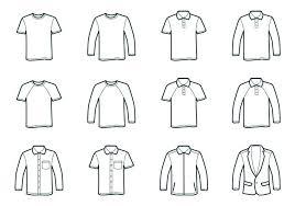 T Shirt Free Vector Art Free Downloads T Shirt Template Illustrator