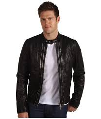 casual leather jackets for men