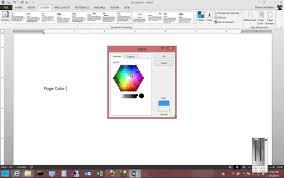 Small Picture How to change page color in Microsoft Word 2013 YouTube