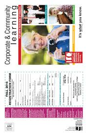 Dhcs Aid Code Chart Corporate And Community Learning Schedule Fall 2016 By