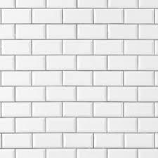 white subway tile wall. Unique Subway Bright White Ice Beveled Ceramic Wall Tile On Subway