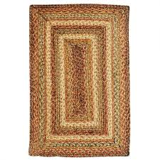 homespice harvest rectangle jute braided rug 2 6 x 6 517074