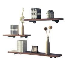 Made By Design Shelves Amazon Com Hdsw Floating Wall Shelves Set Of 3 Handmade