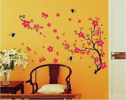 Small Picture Buy Decals Design Branch with Flowers Wall Sticker PVC Vinyl