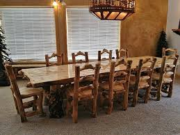 Rustic Square Dining Table Decoration Ideas On The White Plate - Rustic chairs for dining room