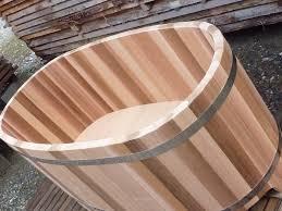 Wooden Bathtub Wooden Bathtub Made In France Obiozz