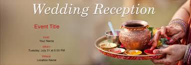 Free Wedding Reception Invitation With Indias 1 Online Tool