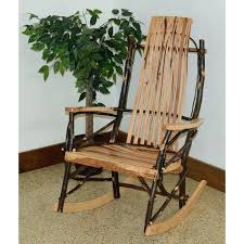 rustic rocking chairs wooden best ideas on chair furniture co hickory pads rustic rocking chairs outdoor chair