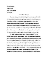 those winter sundays essays those winter sundays essay 503 words bartleby