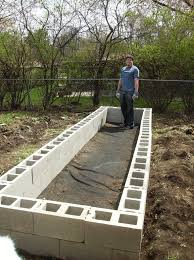 building a raised garden bed with bricks 315 best hochbeete images on