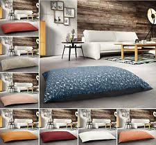 floor cushions. EXTRA LARGE FLOOR MULTI PURPOSE JACQUARD SUEDE CORDUROY CUSHION SOFT ANTI SLIP Floor Cushions