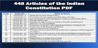 All 448 Articles Of The Indian Constitution Pdf