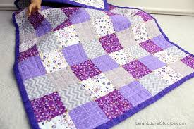 Pellon Project: Modern Patchwork Quilt for 18