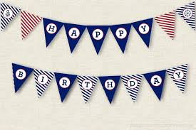 Happy Birthday Banner Template Printable Bernardy Co