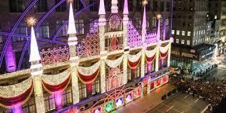 Saks Fifth Avenue Serves Up Holiday Window Magic