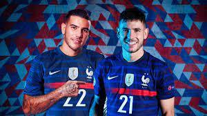 """Ligue des Nations - Lucas et Théo Hernandez enfin réunis en Bleu : """"Jouer  ensemble, ce serait très beau"""" - Eurosport"""